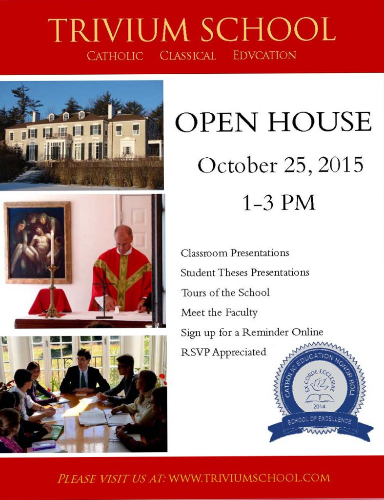 Open House flyer2015